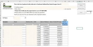 Report from a Pivot Table
