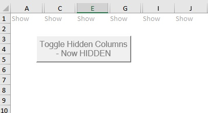 Toggle Hide Columns View 1
